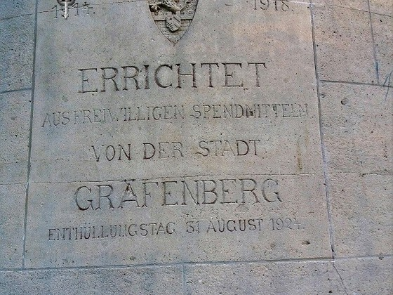 Kriegerdenkmal - Alter Wachturm - Michelsberg - Gräfenberg